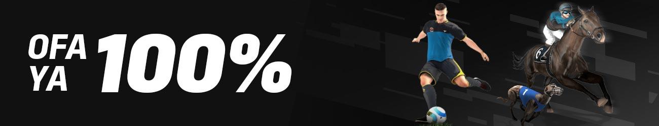 100% Virtuals bonus